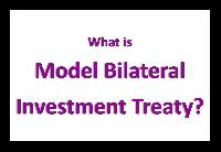 What is Model Bilateral Investment Treaty (BIT) 2016?